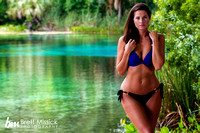Kristin Scheurer Swimsuit Shoot-