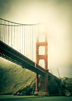 Golden Gate Bridge vintage 1